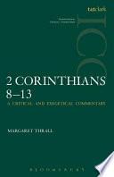 II Corinthians 8-13