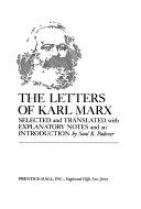 The letters of Karl Marx