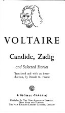 VOLTAIRE Candide  Zadig and Selected Stories