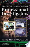 Practical Handbook for Professional Investigators  Third Edition