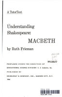 Understanding Shakespeare   Macbeth