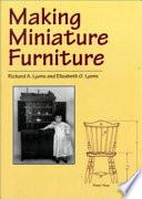 Making Miniature Furniture