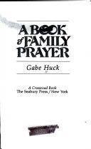 A book of family prayer