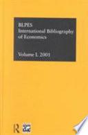 Ibss: Economics: 2001