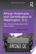 African Americans and Gentrification in Washington  D C
