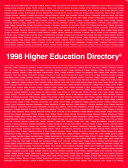 1998 Higher Education Directory