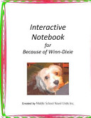 Interactive Notebook for Because of Winn Dixie
