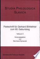 Studia Philologica Slavica
