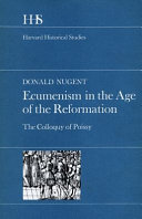 Ecumenism in the Age of the Reformation