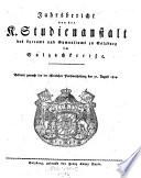 Verzeichniß der Studierenden, welche an dem königl. Lyceum zu Salzburg aus den wissenschaftl. Lehrgegenständen was immer für einen Fortgang gemacht haben