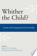 Whither the Child