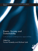 Events  Society and Sustainability
