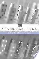 The Affirmative Action Debate