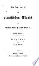 Geschichte des preussischen Staats von Gustav Adolf Harald Stenzel