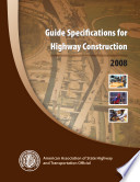 Guide Specifications For Highway Construction 9th Edition