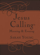 Jesus Calling Morning and Evening Devotional Book