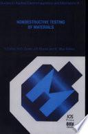 Nondestructive Testing of Materials