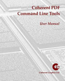 Coherent PDF Command Line Tools