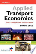 illustration Applied Transport Economics, Policy, Management & Decision Making