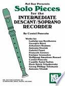 Ebook Solo Pieces for the Interm. Descant/Soprano Recorder Epub COSTEL PUSCOIU Apps Read Mobile
