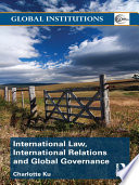 International Law  International Relations and Global Governance