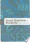 Good Grammar for Students