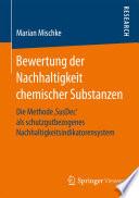 Bewertung der Nachhaltigkeit chemischer Substanzen