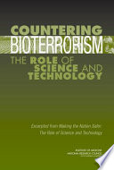 Countering Bioterrorism