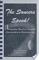 The Saucers Speak