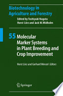 Molecular Marker Systems in Plant Breeding and Crop Improvement