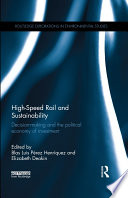 High Speed Rail And Sustainability