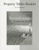 Property Tables and Figures to Accompany Thermodynamics