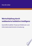 Wertsch  pfung durch webbasierte kollektive Intelligenz