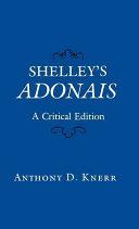 Shelley s Adonais