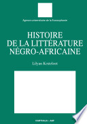 Histoire de la litt  rature n  gro africaine