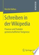Schreiben in der Wikipedia