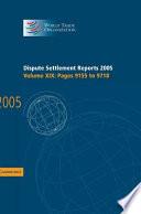 Dispute Settlement Reports 2005