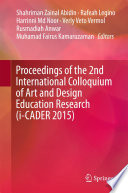 Proceedings of the 2nd International Colloquium of Art and Design Education Research  i CADER 2015