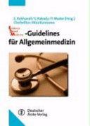 Evidence-based-Medicine-Guidelines für Allgemeinmedizin