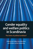 Gender Equality and Welfare Politics in Scandinavia