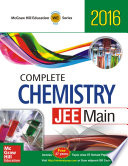 Complete Chemistry  JEE Main   2016