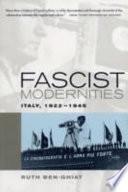 Fascist Modernities Book PDF