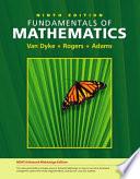 Fundamentals of mathematics