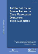 The Role of Italian Fighter Aircraft in Crisis Management Operations: Trends and Needs