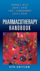 Pharmacotherapy Handbook Eighth Edition