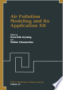Air Pollution Modeling And Its Application Xii book