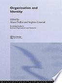 Organization and Identity