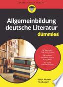 Allgemeinbildung deutsche Literatur f  r Dummies