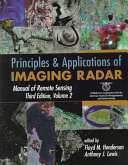 Manual of Remote Sensing  Principles and Applications of Imaging Radar