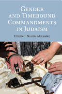 Gender and Timebound Commandments in Judaism